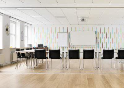 Lej lokale til dit næste kursus, møde eller konference her hos MBK. Vi tilbyder unikke og inspirerende facilieter i hjertet af København.